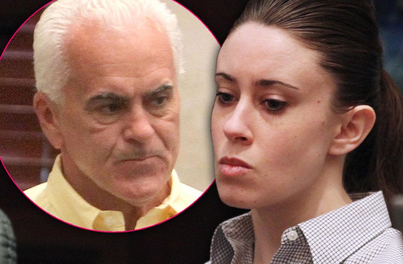 Casey Anthony No Intention Talking Father After Car Crash