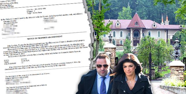 //teresa giudice gets to keep her new jersey mansion bankruptcy court wide