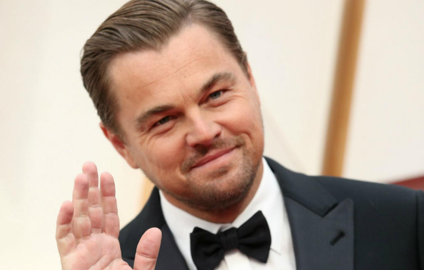 Leonardo DiCaprio at the 92nd Annual Academy Awards.