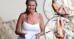 Christie Brinkley & Sailor Brinkley Beach Bodies France