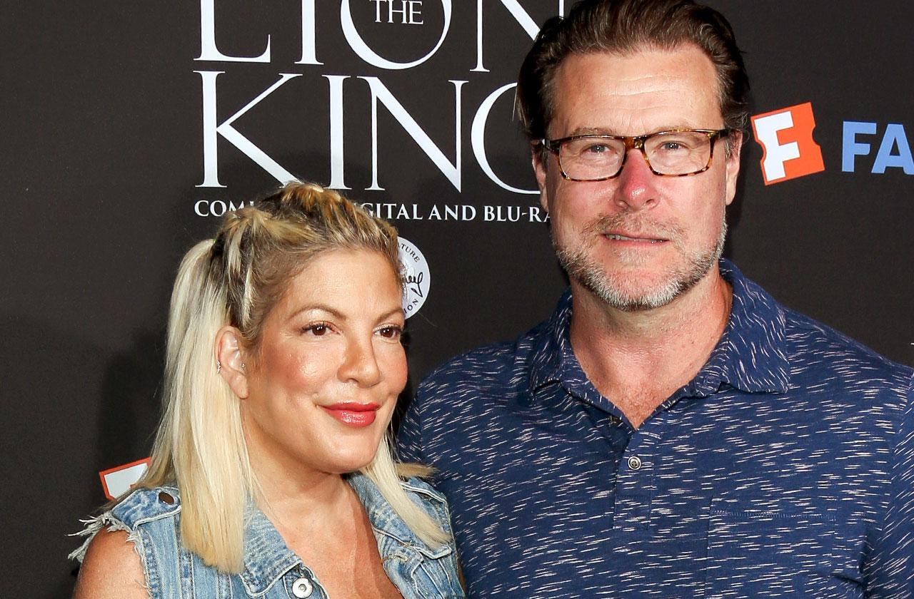 //tori spelling dean mcdermott separated leaves home pp