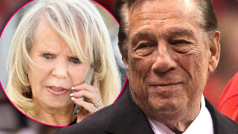 //donald sterling divorce filed wife shelly v stiviano affair pp