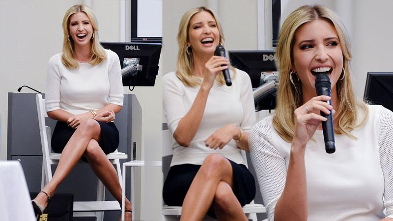 //Ivanka Trump presents Women Who Work at the Inagural Accessories Council Summit moderated by Marie Claire Editor in Chief Anne Fulenwider pp