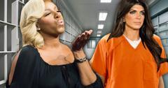 //nene leakes visiting teresa giudice in prison