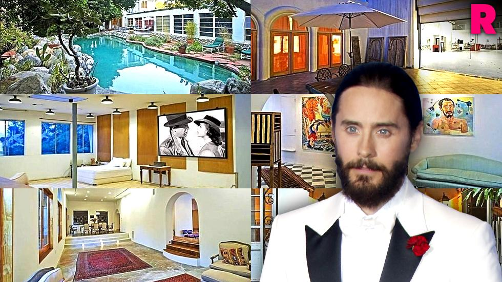 jared leto los angeles home