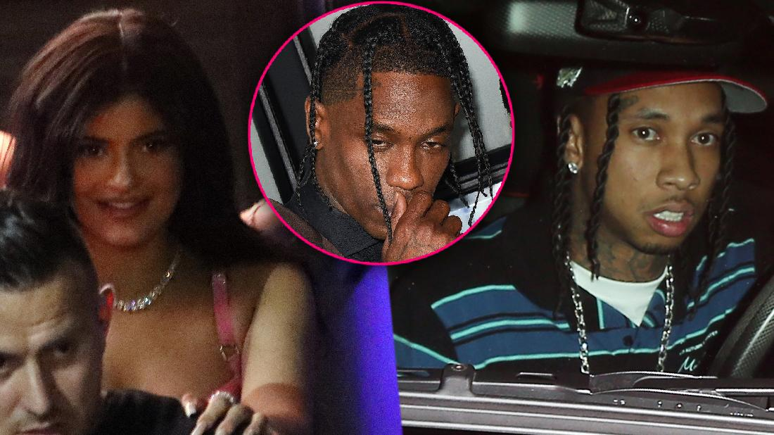 Kylie Jenner Parties With Ex Tyga After Travis Split