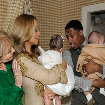 //mariah carey twins nick cannon barbara walters