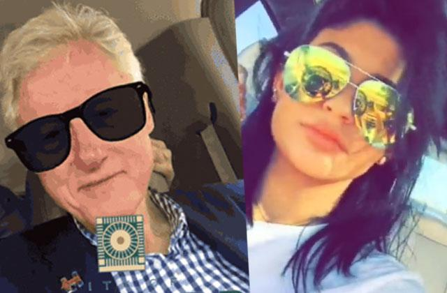 //kylie jenner snapchat bill clinton twins