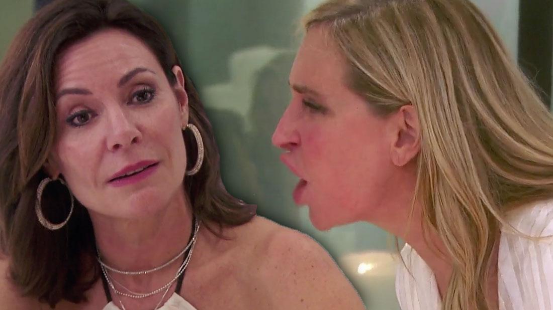 'RHONY' Recap: Drunk Sonja Morgan Calls Luann De Lesseps 'Diva'