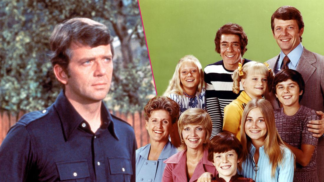 Late Robert Reed Drunk On Brady Bunch Set