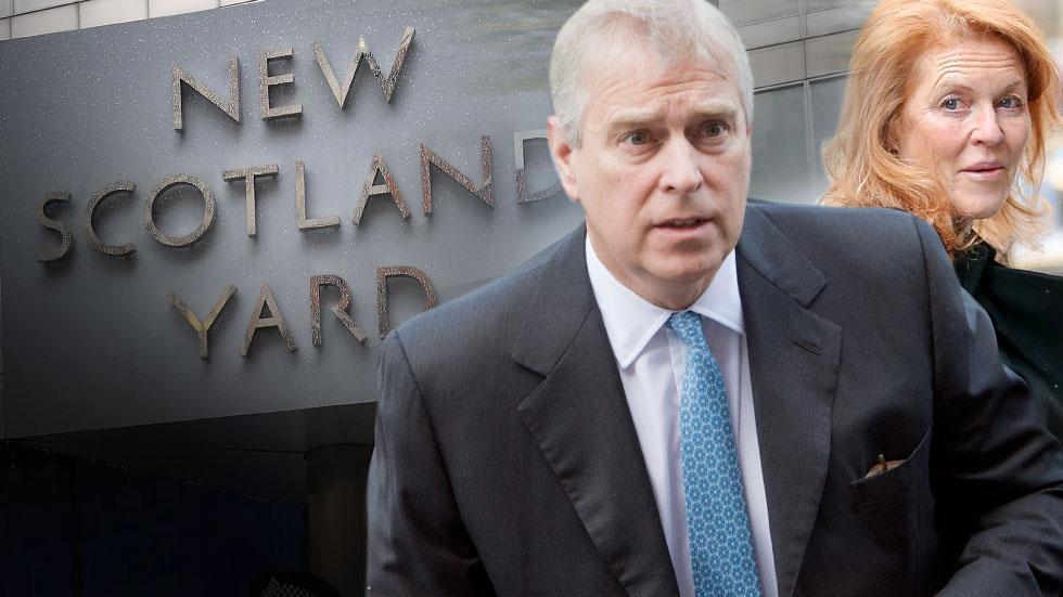 Prince Andrew Scotland Yard