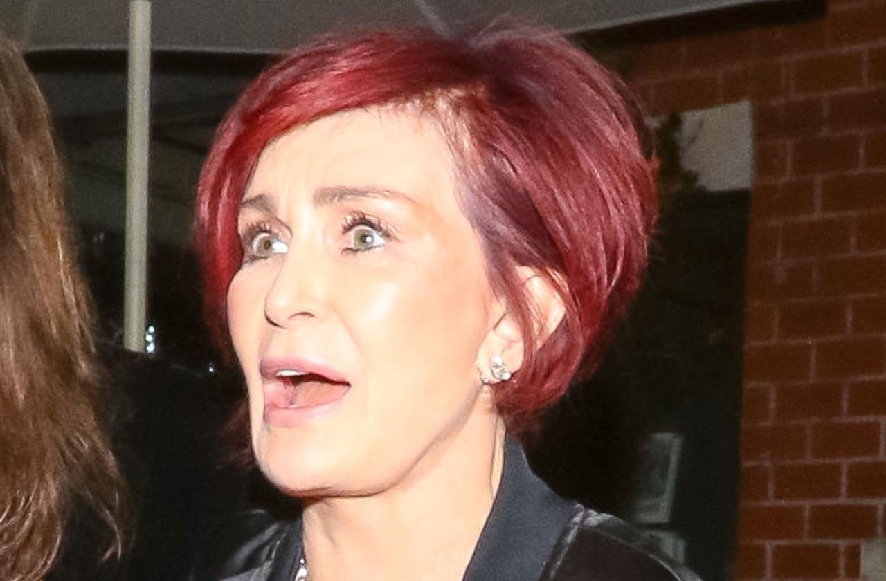 Sharon Osbourne Tourette's Syndrome