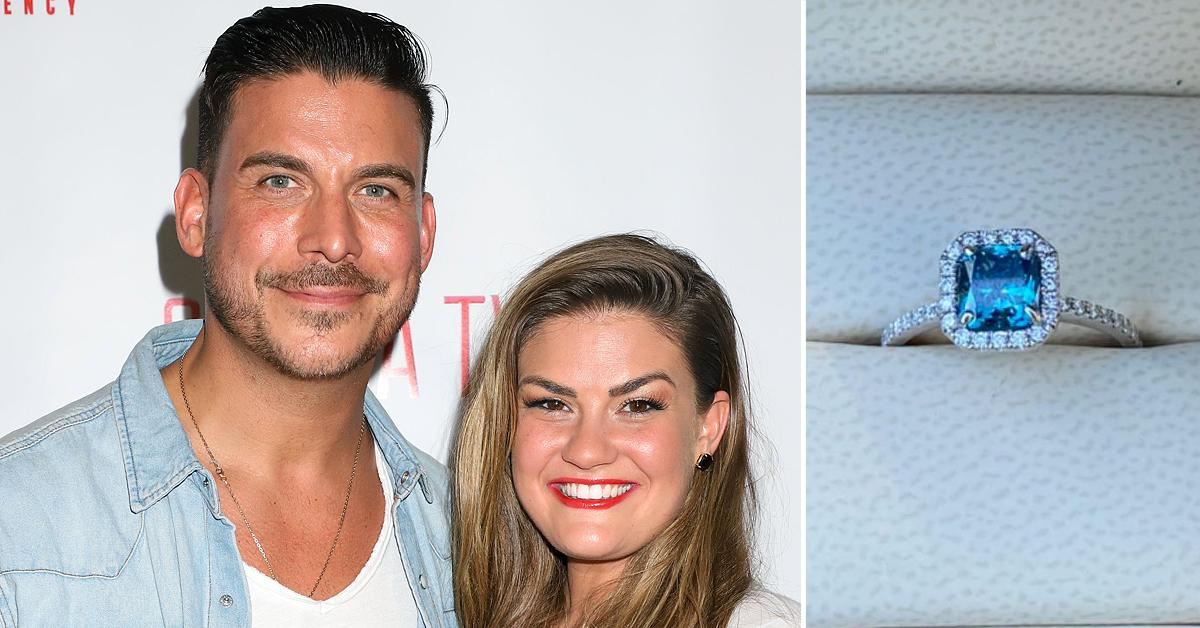 vanderpump rules jax taylor brittany cartwright diamond ring push present tax issues