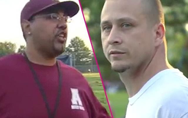 Friday Night Tykes Football Coach Dad Screaming Fight