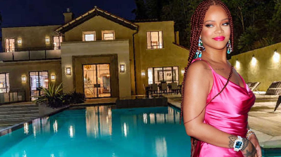 Rihanna Leasing Hollywood Home For $35000