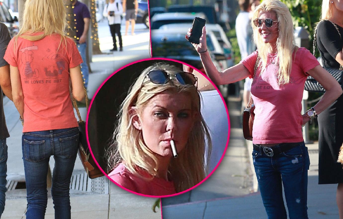 Tara Reid Looks Like Hot Mess Jewelry Shopping