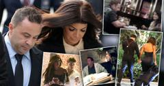 Joe And Teresa Giudice Along With Four Insets Of Them With Other Romantic Partners