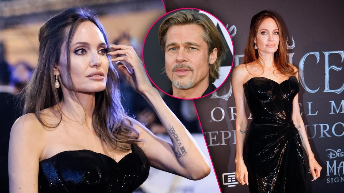 Scary Skinny! Angelina Jolie's Weight Plummets Amid Fight With Brad Pitt Over Their Kids
