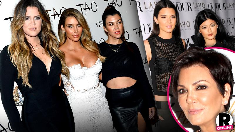 //kardashian family tighten inner circle friends pp sl