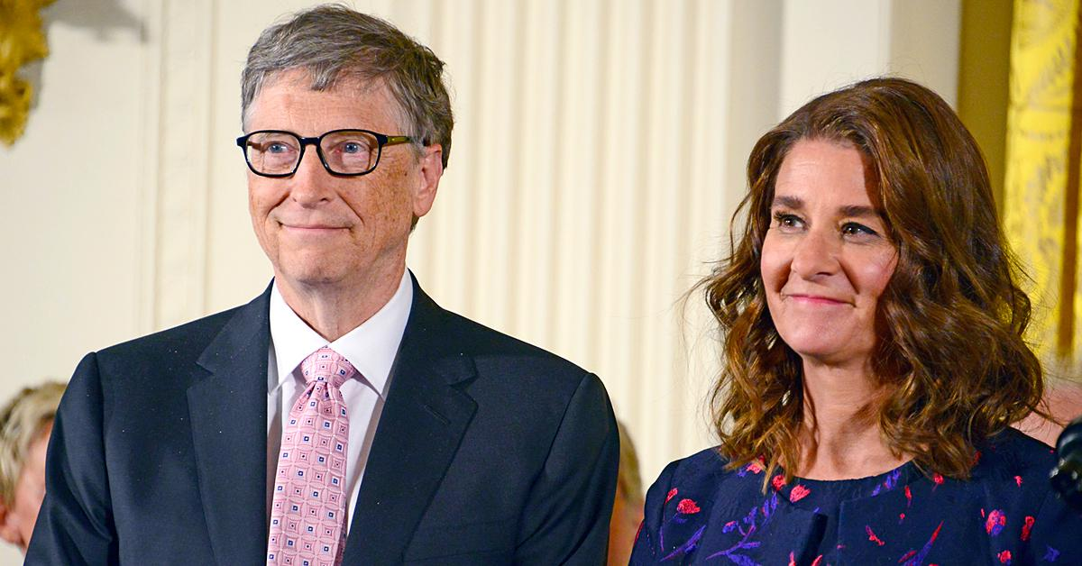 bill gates divorce melinda hiding california golf course
