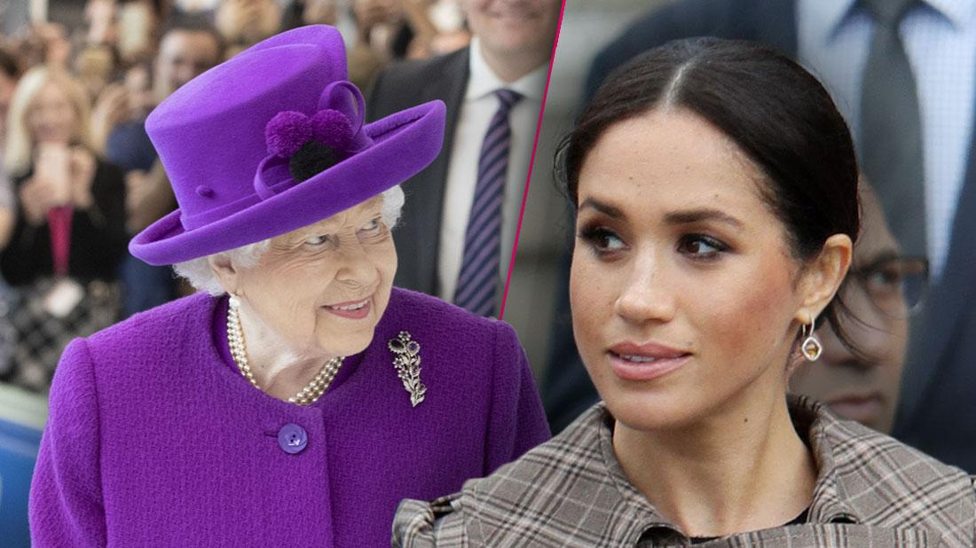 Meghan Markle 'Dissapointed' In Queens Decision To Get Rid of Sussex Royal Brand