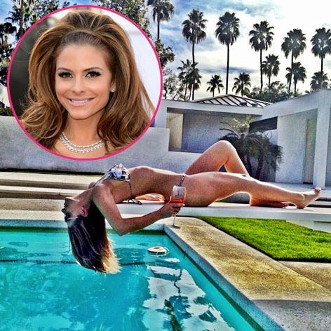 //maria menounos bikini palm springs square instagram