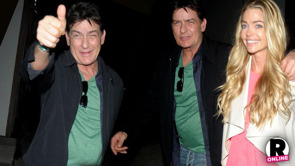 Charlie Sheen & Denise Richards Out In LA