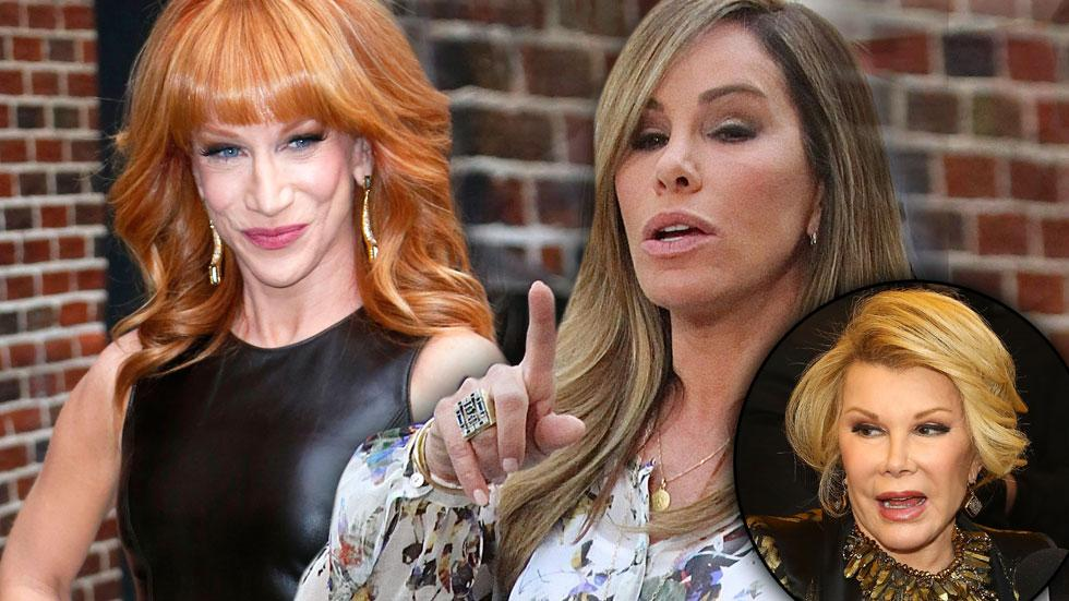 Fashion Police Feud Melissa Rivers Says Kathy Griffin 'Sh*t All Over My Mother's Legacy'