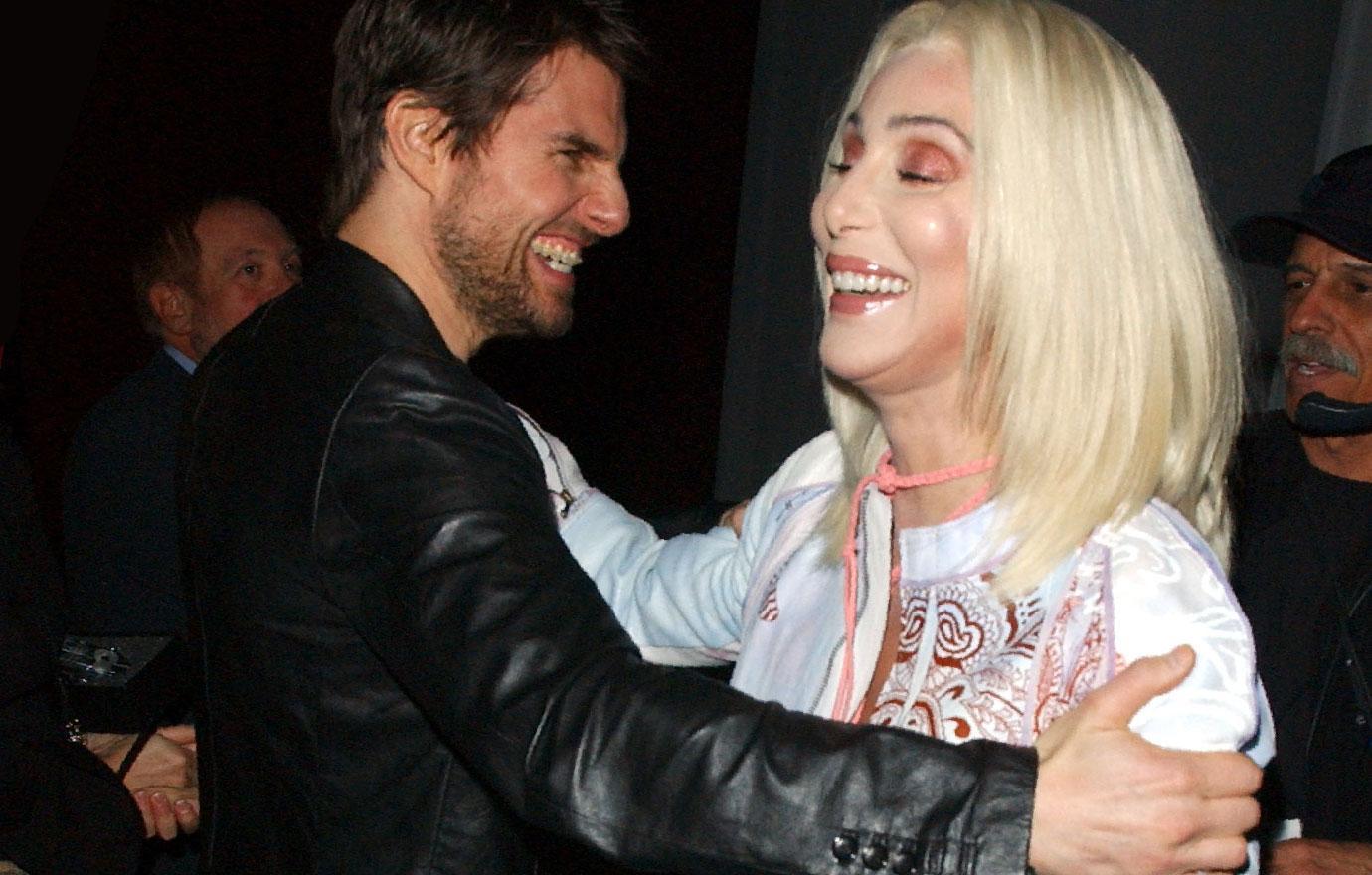 Cher Former Boyfriend Tom Cruise Wary Of Her Kiss And Tell Memoir