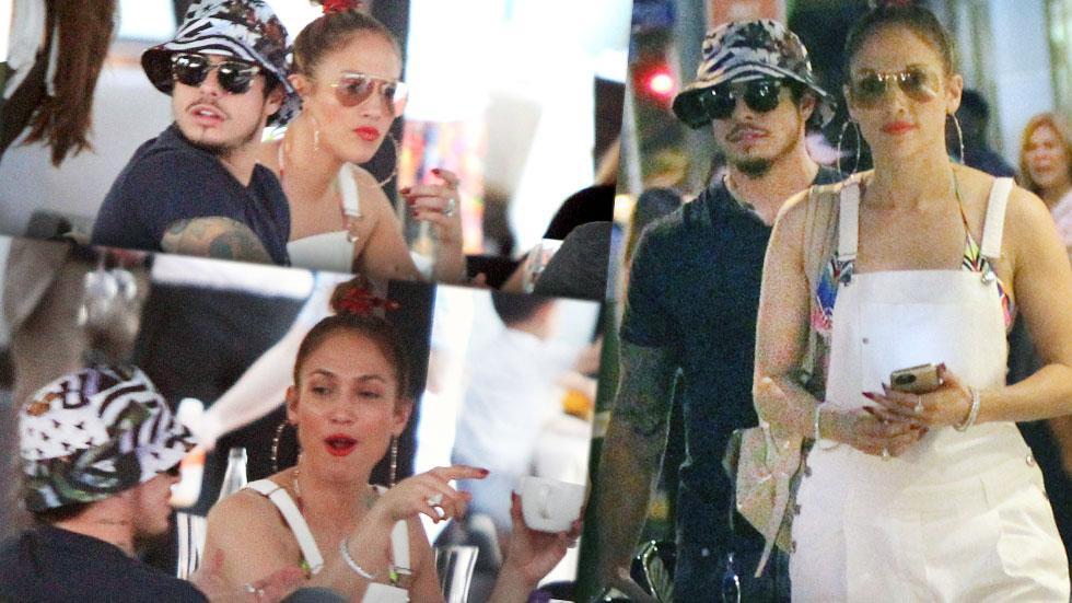 Jennifer Lopez Casper Smart Back together