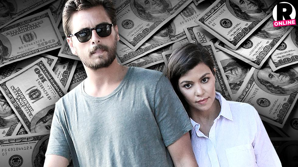 Kourtney Kardashian Spies On Scott Disick Bank Account