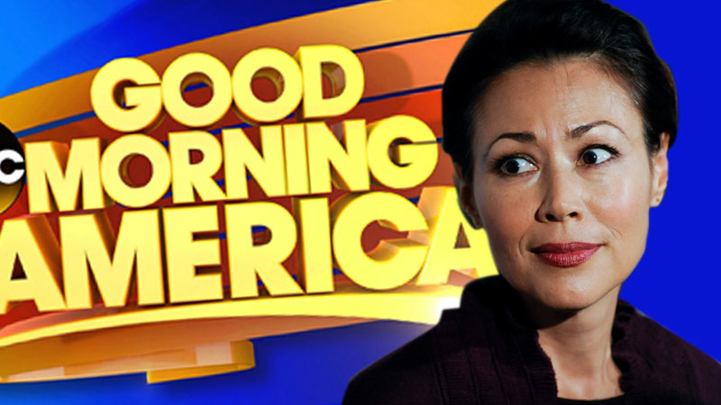 //ann curry good morning america too serious
