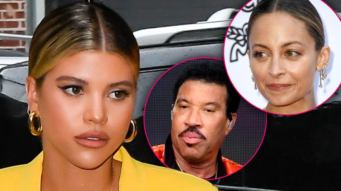Sofia Richie Ices Out Father Lionel & Sister Nicole For 1 Year Over Scott Disick Relationship