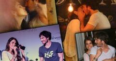 Nikki Reed & Ian Somerhalder Honeymoon Kiss