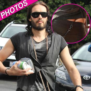 //russell brand bum hollywood photos