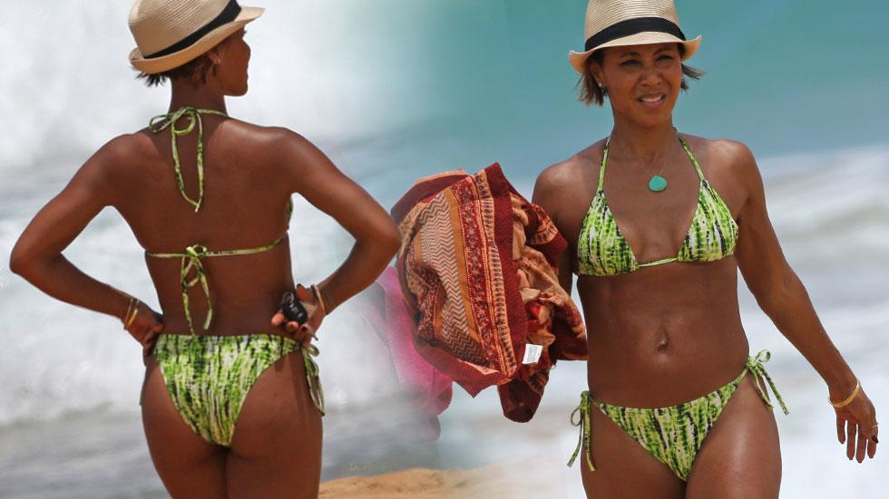 Jada Pinkett Smith Bikini Willow Hawaii