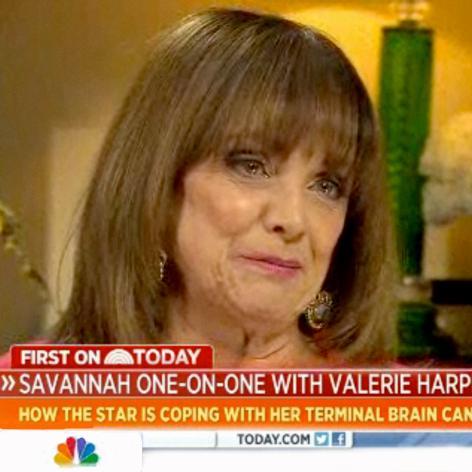 //valerie harper savannah guthrie today interview square