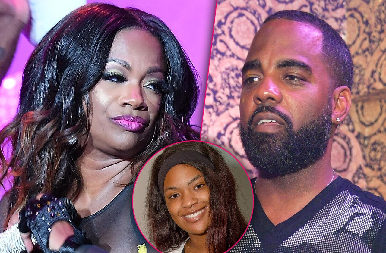 Kandi Burruss Todd Tucker Fight Riley Burruss New Car