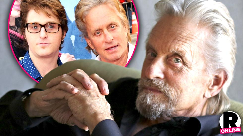 //michael douglas  bday son cameron coming out jail pp sl
