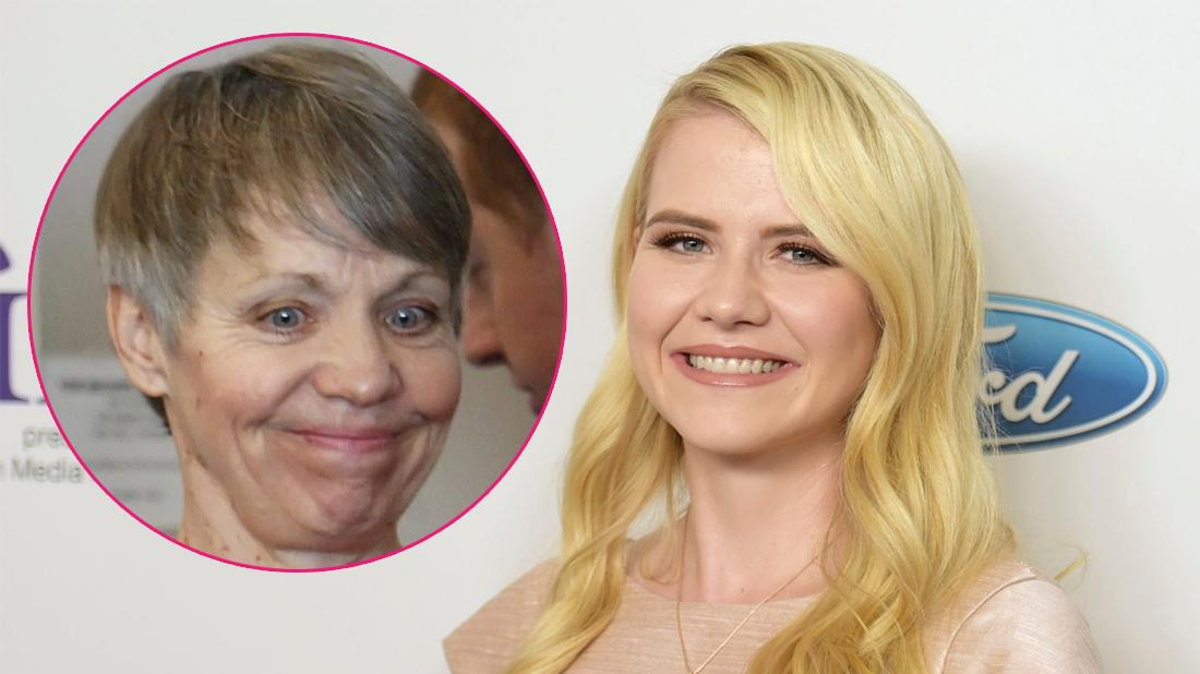 Elizabeth Smart arrives at the 43rd annual Gracie Awards at the Beverly Wilshire Hotel; Inset, Wanda Barzee.
