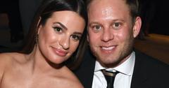 Lea Michele Glee Star Marries Zandy Reich