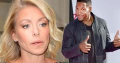 Michael strahan disses Kelly ripa live with Kelly and Michael gma family