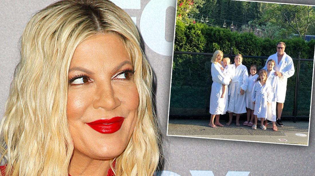 Tori Spelling's Bank Court Hearing Delayed As Actress Takes Luxury Summer Vacation