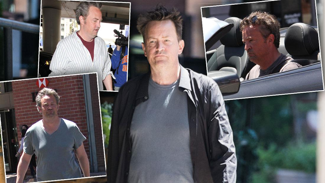 Matthew Perry Looks Refreshed In NYC Amid Health Fears