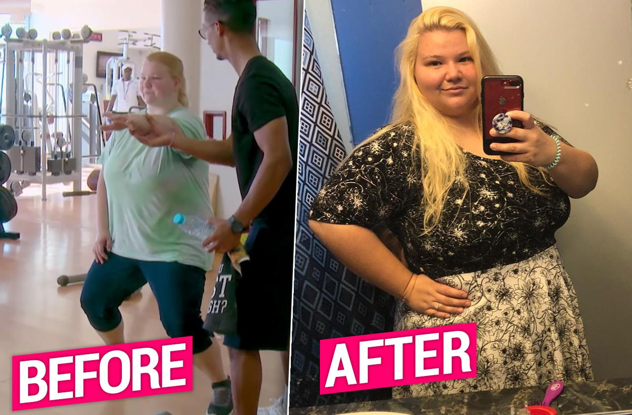 90 day fiance Nicole nafgizer weight loss photos
