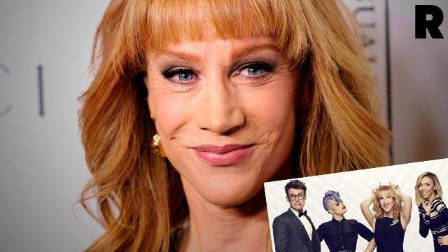 //kathy griffin quits fashion police PP