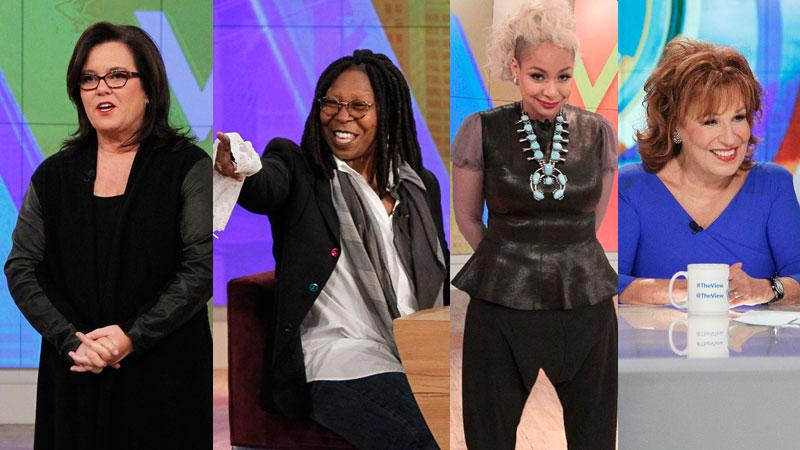 Ten Reasons Why The View Has Hit Rock Bottom