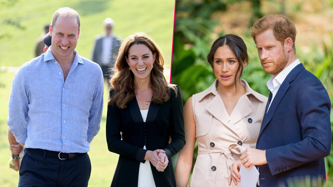 Prince William & Kate Middleton 'So Happy' Meghan Markle & Prince Harry Moved To Canada