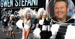 Blake Shelton Joins Gwen Stefani In Las Vegas