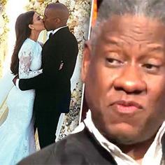 //andre leon wwhl kim kardashian kanye west wedding awkward first kiss five first dances andy cohen sq